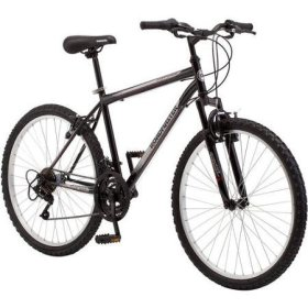 26″ Men's Bike Black/Red Roadmaster Granite Peak