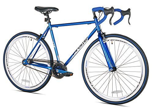 Thruster 700C Fixie Bike, Blue, 54cm/One Size