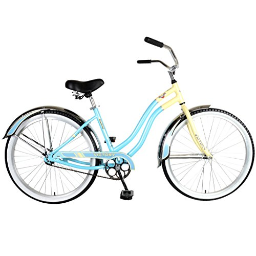 Victory Touring 126L Cruiser Bike, 26 inch Wheels, 17 inch Frame, Men's Bike, Blue