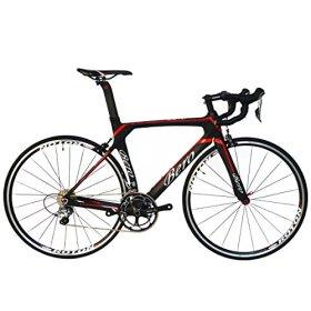 BEIOU® 2016 700C Road Bike Shimano 105 5800 11S Racing Bicycle 500mm 520mm 540mm 560mm T800 Carbon Fiber Bike Ultra-light 18.3lbs CB013A-2