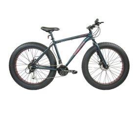 Alton Corsa Mammoth 2.0 26″ Wheel 21-Speed Alloy Frame Bike, Dark Army Green, 20″/Large