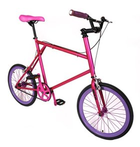 MIXIE Crisscross Hardcandy Mixed Gear Bike, 17-Inch/One Size, Pink