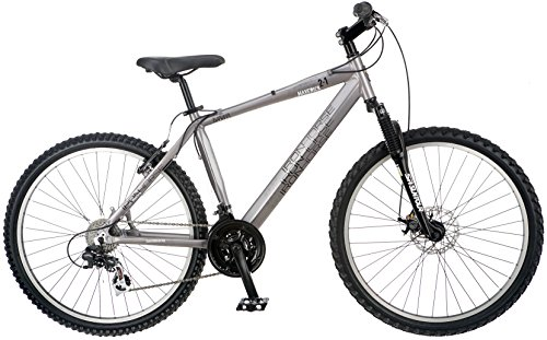 Iron Horse IH7004 Men's Maverick 2.1 Bicycle (26-Inch Wheels), 18-Inch/Medium, Grey