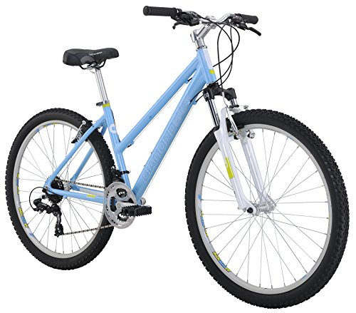 Diamondback Bicycles 2016 Laurito Women's Hardtail Mountain Bicycle, 17″/Medium, Blue