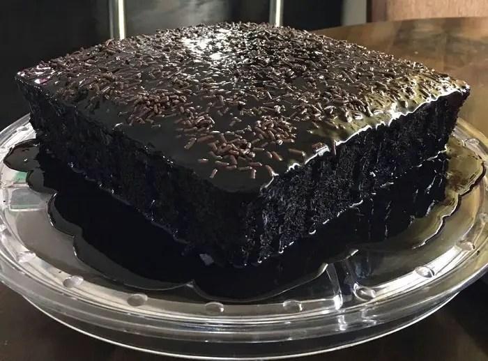 koleksi resepi kek koko mudah foody bloggers Resepi Kek Coklat Tanpa Telur dan Cuka Enak dan Mudah