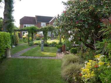 Upper Back Garden Today
