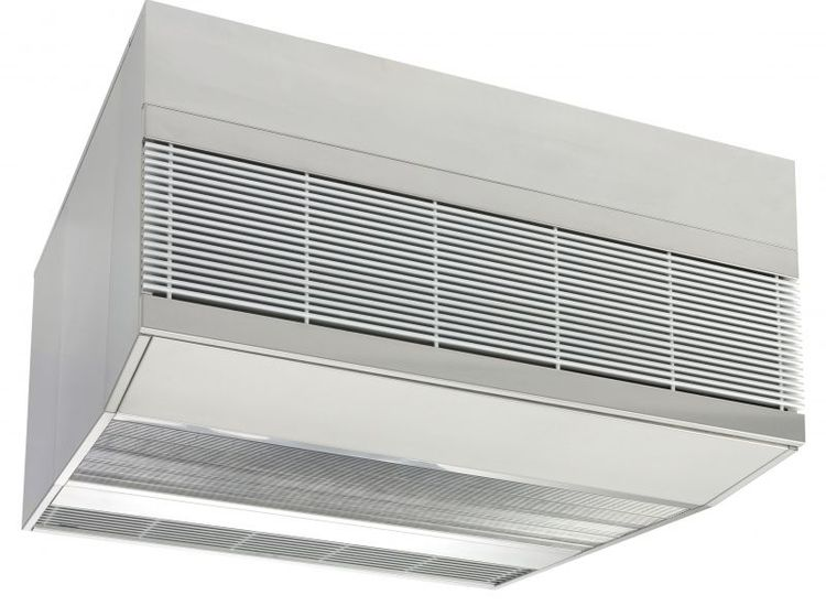 industrial air curtains for heating