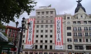 Lonas del Athletic en El Arenal
