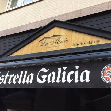 Metacrilato impreso Estrella galicia