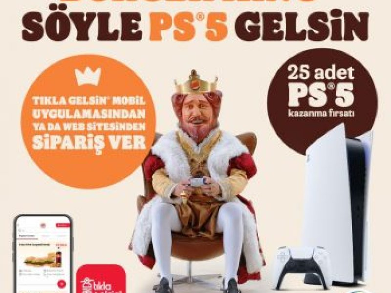 Burger King Playstation 5 Çekilişi