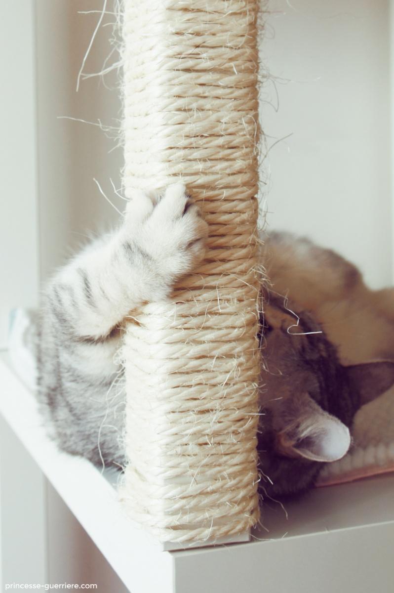Un arbre  chat IKEA DIY