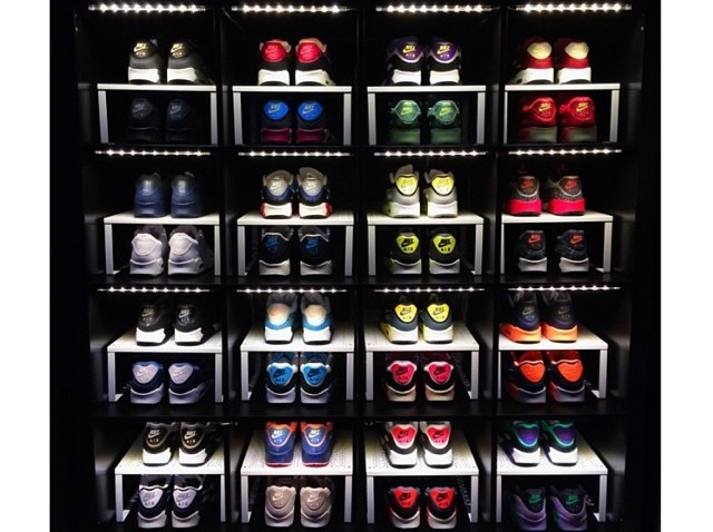 presentoir rangement a chaussures expedit