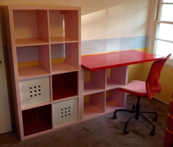 Un meuble  langer avec du rangement  Bidouilles IKEA