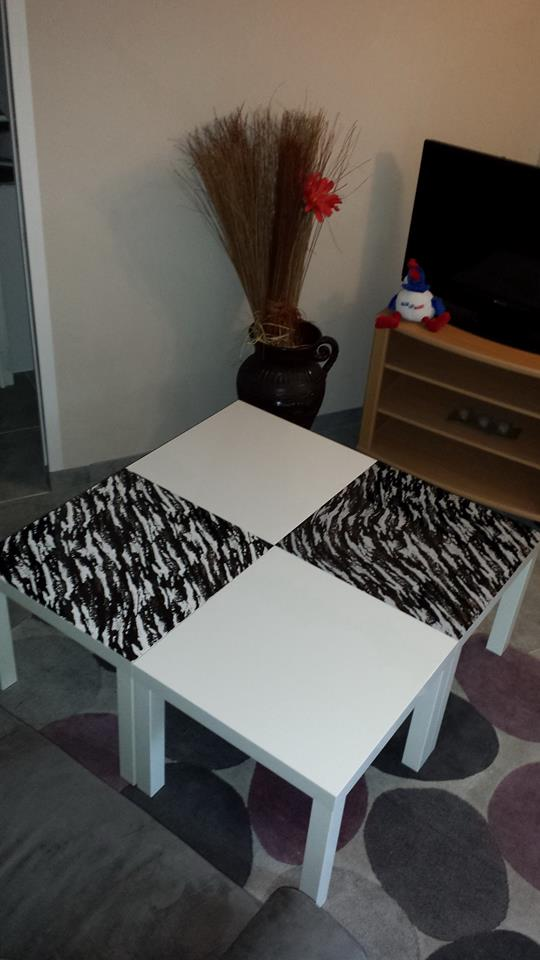 Relooking Dune Table Basse Lack