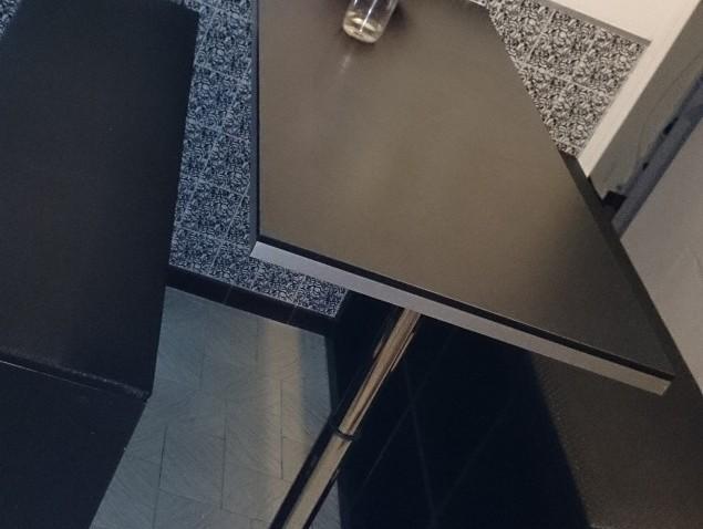Cration de table haute et bancs
