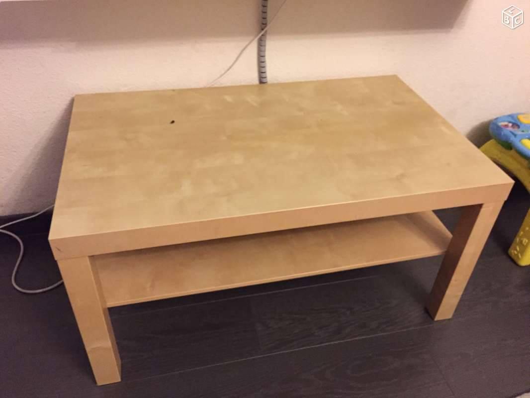 Une table LACK relooke nature  Bidouilles IKEA