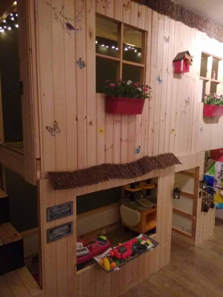 Lit cabane KURA  2 tages  Bidouilles IKEA