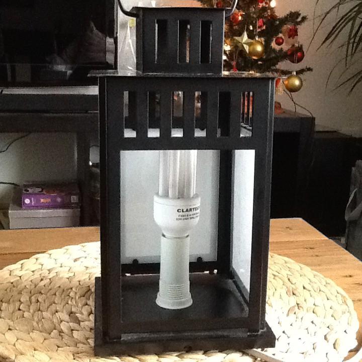 Cration Lampe Lectrique Avec Photophorelanterne Ikea