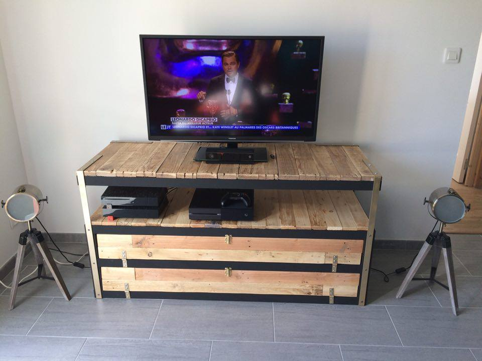 Un Meuble Tl Industriel Petit Prix Bidouilles IKEA