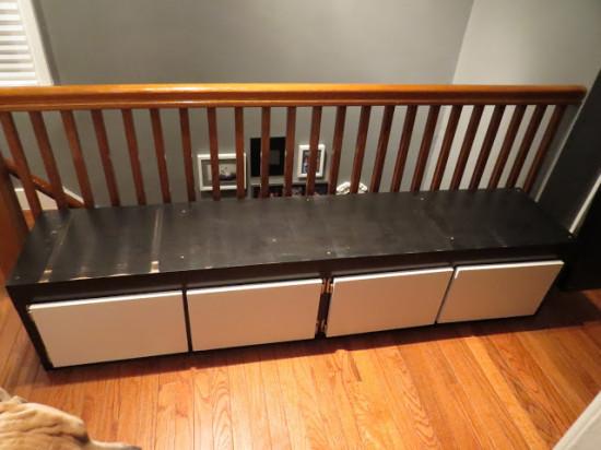 Un Banc Avec Du Rangement Et Ikea Lack