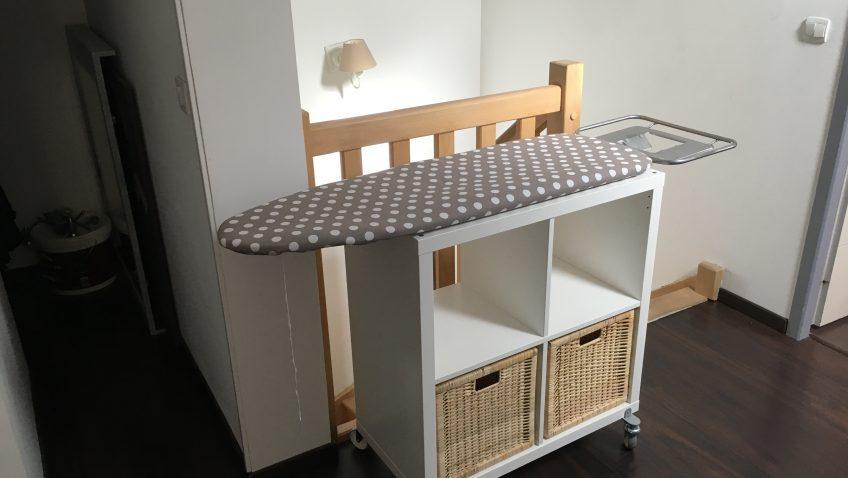 meuble cuisine avec table escamotable