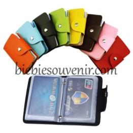 Souvenir dompet kartu cantik