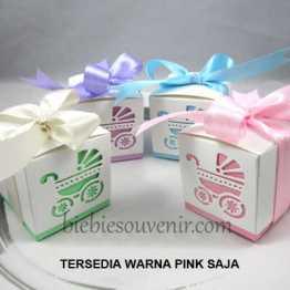 baby carriage box souvenir candybox unik