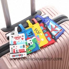 souvenir pernikahan unik luggage tag gantungan koper