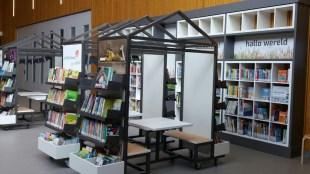 Boekenkar en wandkast-web