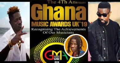 2019 Ghana Music Awards UK GMA nominees list.