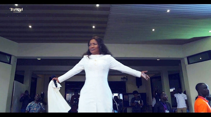 Ohemaa Mercy Yesu Din Live Music Video.