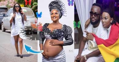 Nana Ama McBrown gives birth to daughter Maxin Mawushi Mensah.