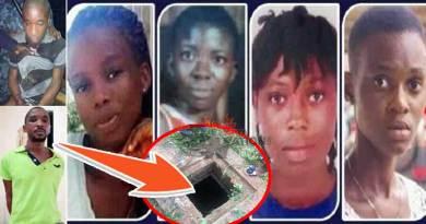 Takoradi Taadi missing kidnapped girls confirmed dead.