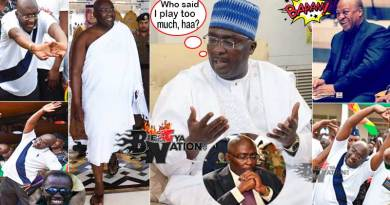 Bawumia you play too much boot for chale wote economics.