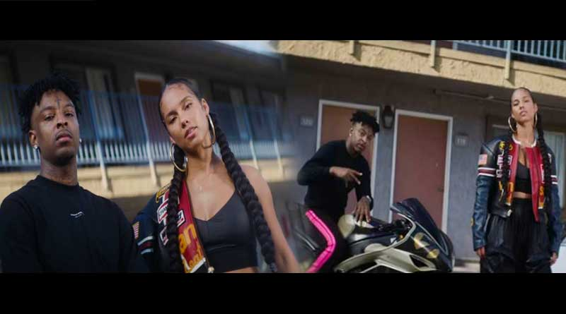 Alicia Keys ft 21 Savage Miguel Show Me Love Remix Video.