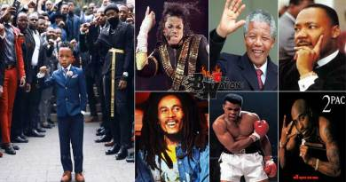 Greatest Black Africans Martin Luther King Jnr Muhammad Ali Michael Jackson Nelson Mandela.
