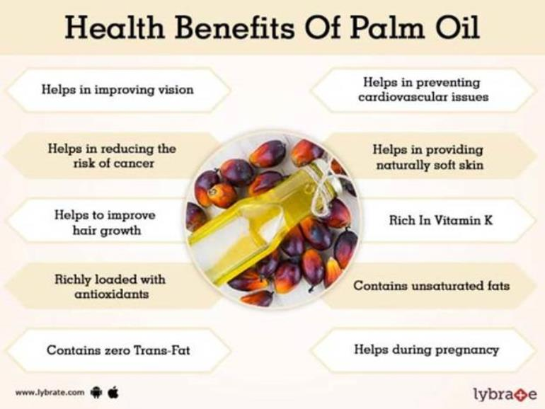 Palm Oil Miracle protect the heart brain Improves skin n hair 2.