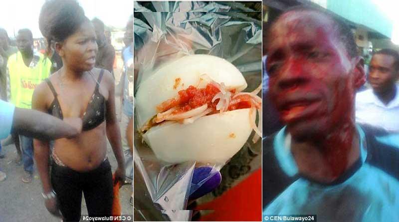 Zimbabwe prostitute Chipo beats customer Mushonga over one boiled egg.