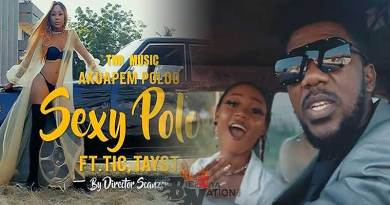 Akuapem Poloo ft TiC n TaysT-Sexy Poloo Video directed by Scanzer, produced by Samuel Gee.