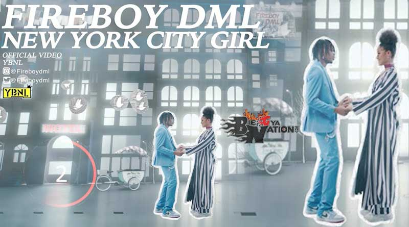 Fireboy DML New York City Girl Music Video directed by Clarence Peters.