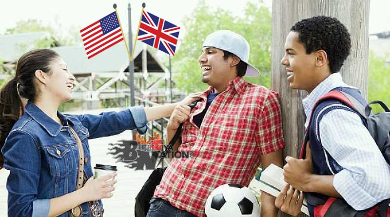 How British English and American English are Different
