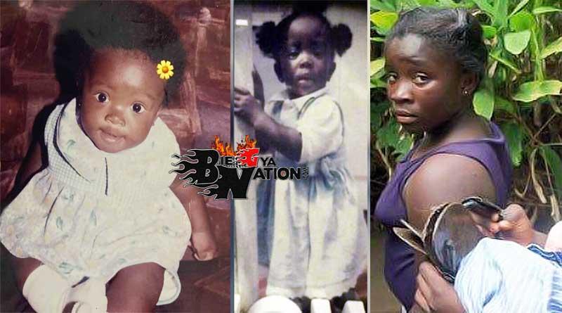Maame Serwaa Clara Amoateng Benson childhood old photos