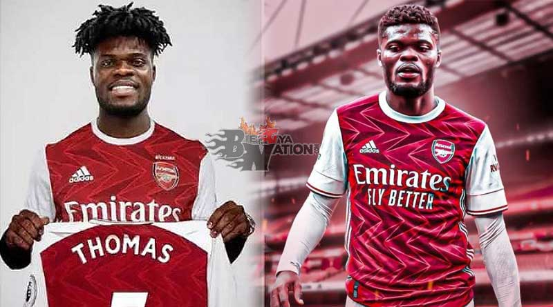 Thomas Partey Signs For Arsenal From Atletico Madrid in 45million pounds deal