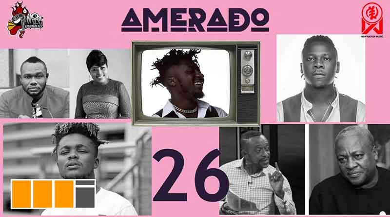 Amerado ft Ratty Ghana Koo Ntakra Bogo Blay Yeete Nsem Episode 26 Video