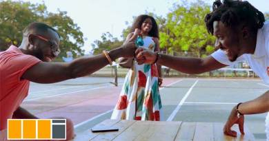 Amerado ft Okyeame Kwame Kyer3 Me Music Video directed by Gordon Appiah, song produced by Azee