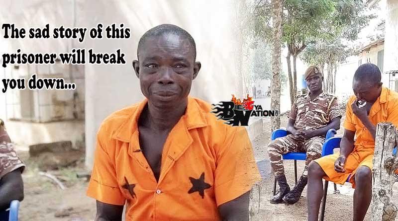 Ghanaian prisoner Charles Ayisala sad story