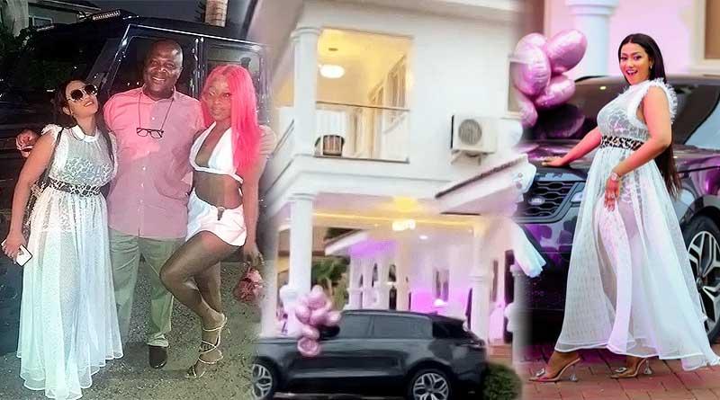 Hajia4real Mona cars Trassaco mansion Ibrahim Mahama Efia Odo