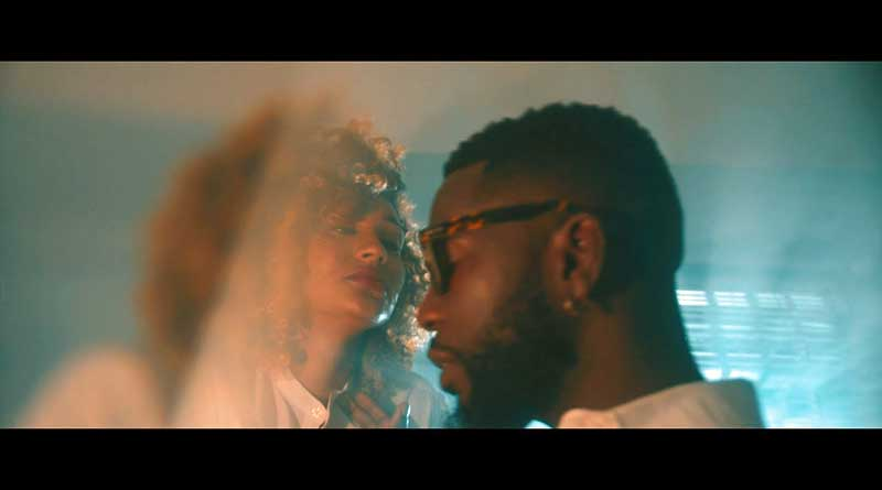 Bisa Kdei performing Slow Official Music Video directed by Prince Dovlo, song produced by Bisa Kdei.