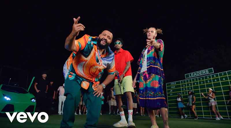 DJ Khaled ft Justin Bieber and 21 Savage Let It Go Official Music Video directed by Colin Tilley.