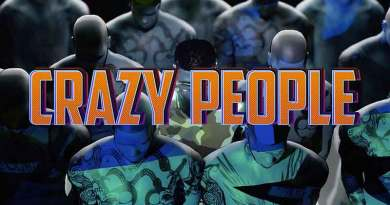 Darkovibes– Crazy People Official Music Video directed animated by Pixelgraphx, song produced by Willisbeatz.
